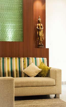 moderne Wohnzimmer von Vishwanath And Associates