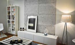 Стены и пол в . Автор – Loft Design System Deutschland