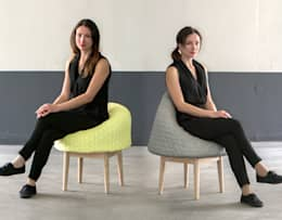 BOUNCE family: moderne Woonkamer door Product Design - Véronique Baer