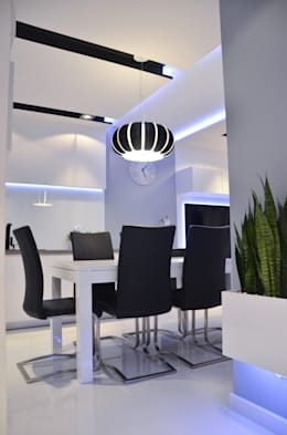 غرفة السفرة تنفيذ Pracownia Projektowa Studio86