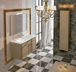 Projekty,  Łazienka zaprojektowane przez Muebles Flores Torreblanca