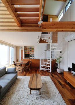 Projekty,  Salon zaprojektowane przez 島田博一建築設計室