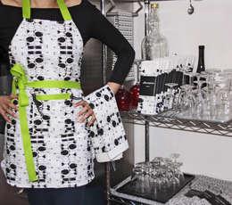 TORCHON / DISH TOWEL vinasse: Cuisine de style de style Moderne par décoratoire