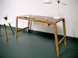 Projekty,  Domowe biuro i gabinet zaprojektowane przez Barnby & Day