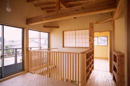 eclectic Media room by 八島建築設計室