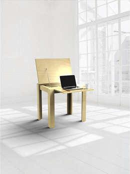 modern Study/office by Alexander Claessen
