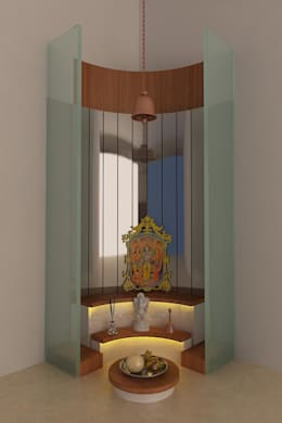 Modern Pooja Room Design Part 23