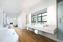DITTEL ARCHITEKTEN GMBH: modern tarz Banyo