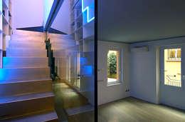 Appartamento su tre livelli, Milano:  in stile  di Cini Boeri Architetti