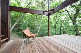 .: 鎌田建築設計室が手掛けたベランダです。
