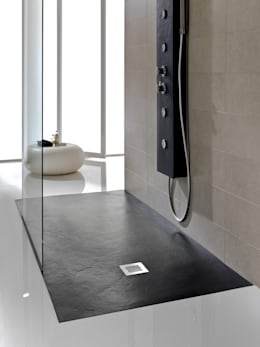 Baños de estilo moderno por Just Trays