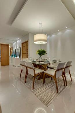 Projeto: Salas de jantar modernas por carla felippi arquiteta