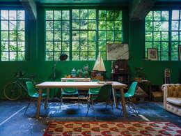 SECTION: Sala da pranzo in stile in stile Moderno di Stefano Bettio designer