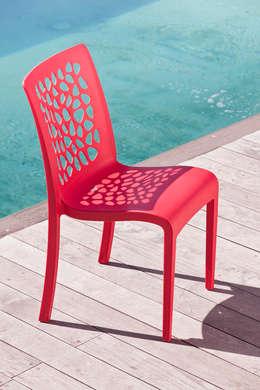 Tulip Chair: Jardin de style de style Moderne par Jessica Guillot