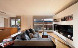 The Pont design: modern tarz Oturma Odası