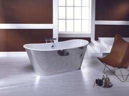 vasca in ghisa trendy acciao 170x68cm bagno in stile in stile classico di bleu provence