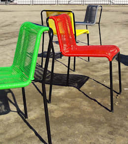 Silla Andy Cordón: Hogar de estilo  por Kotta Design Furniture