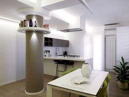 Laboratorio di Progettazione Claudio Criscione Design : modern tarz Yemek Odası