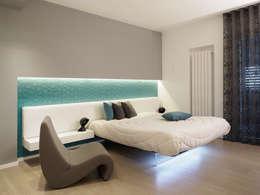 Habitaciones de estilo moderno por Laboratorio di Progettazione Claudio Criscione Design