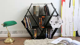 Projekty,  Salon zaprojektowane przez Ruche shelving unit