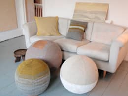 Seating sphere collection: modern Living room by Mary Goodman