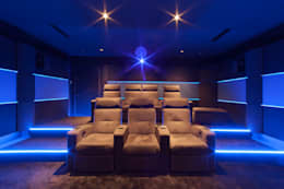 Multimedia room by Dynamic Home Cinéma