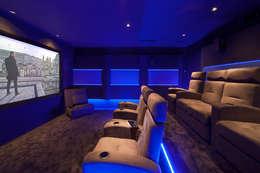 Multimedia ruimte door Dynamic Home Cinéma