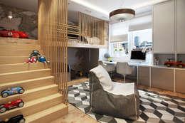 Dormitorios infantiles de estilo industrial por Дарья Баранович Дизайн Интерьера