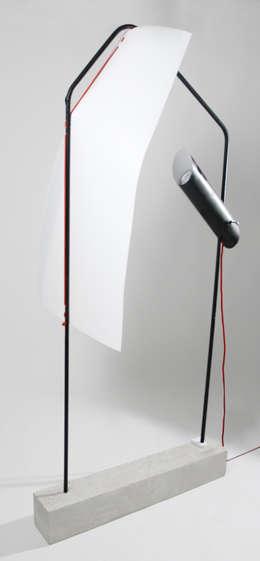 LabLight: Salon de style de style eclectique par Justine Allard