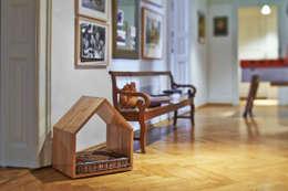 Гостиная в . Автор – NormanHerwig - Möbel & Architektur