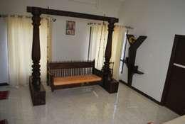 Sri. Ravishankar Guruji: modern Houses by Geometrixs Architects & Engineers