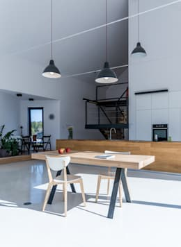 moderne Keuken door Kropka Studio