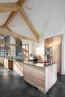 Cocinas de estilo moderno por Kwint architecten