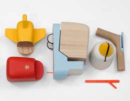 Tayo Toys : Chambre d'enfants de style  par LAURELINE GALLIOT