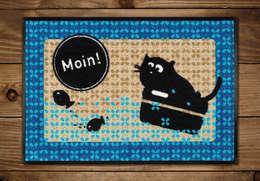 Стены и пол в . Автор – cats on appletrees