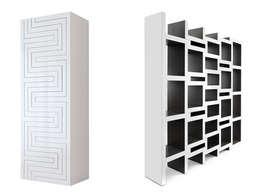 REK bookcase: moderne Woonkamer door Reinier de Jong Design