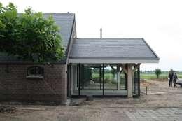 Verbouw stal bij boerderij:  Ramen door Architectenbureau Jules Zwijsen
