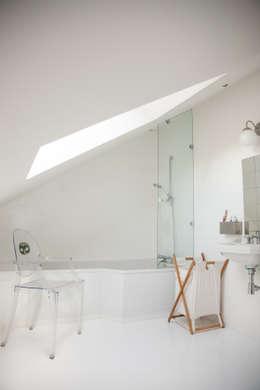 Projekty,  Łazienka zaprojektowane przez mllm