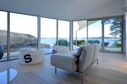 Projekty, eklektyczne Domy zaprojektowane przez Jarmund/Vigsnæs AS Arkitekter MNAL
