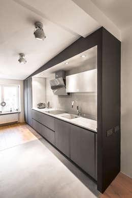 LOFT_cuisine/salle à manger: Cuisine de style de style Moderne par GRUPA HYBRYDA