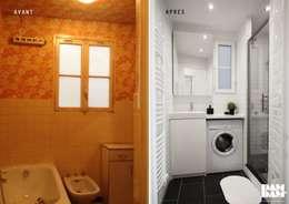la salle de bain:  de style  par DAM DAM'
