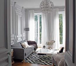 Projekty,  Salon zaprojektowane przez Matin de Mai