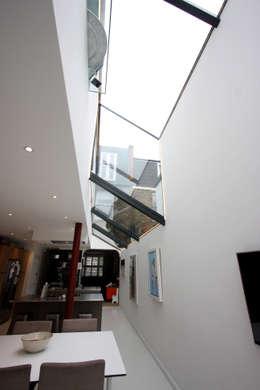 modern Living room by IQ Glass UK