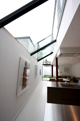 modern Living room by IQ Glass UK