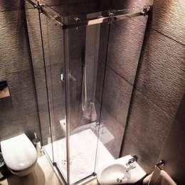 Projekty,  Łazienka zaprojektowane przez Giuseppe Strippoli Designer