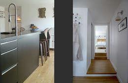 Appartement FCB: Cuisine de style  par BONORA ARCHITECTES