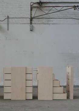 Forgetfulness: moderne Woonkamer door Stijn van der Vleuten