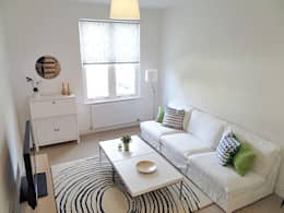Saving Graces Interiors: modern tarz Oturma Odası