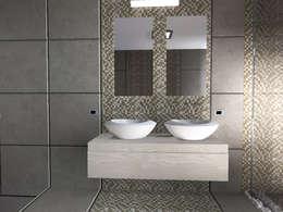 Projekty,  Łazienka zaprojektowane przez Liborio Fabio Cannarozzo