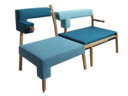 KFHein meubilair:  Kantoren & winkels door designstudio lotte van laatum